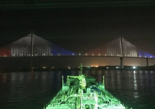 AUDITEL begins with Lighting Tests at the Third Bridge of the Panama Canal