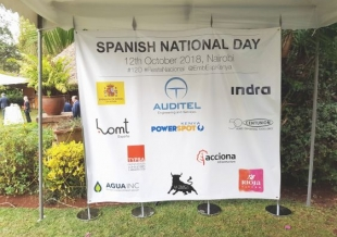 AUDITEL was present at the Spanish Embassy in Kenya to celebrate the 12th of October